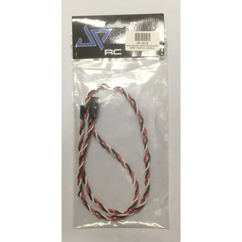JPRC 22AWG WIRE:Servo Extension Wire Twisted 600mm