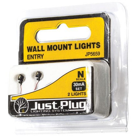 WOODLAND SCENICS N Entry Wall Mount Lights