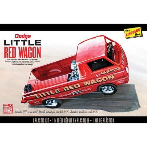 1/25 DODGE LITTLE RED WAGON
