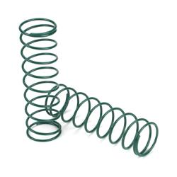 LOSI 15mm Springs 3.1 X 3.1 Rate, Green: 8B