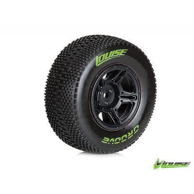 LOUISE #SC-Groove 1/10 SC Soft Rear Tyre