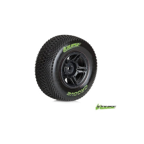 LOUISE SC-GROOVE 1/10 SOFT FRONT TIRE/WHEELS