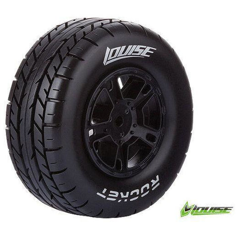 Image of LOUISE SC-ROCKET 1/10 ON ROAD TIRES/WHEELS FRNT