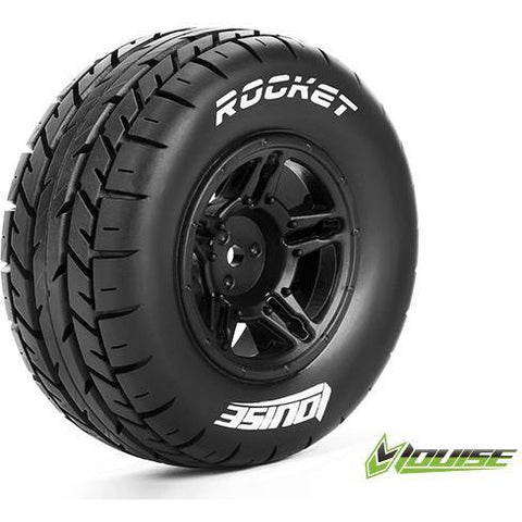 Image of LOUISE SC-ROCKET 1/10 ON ROAD TIRES/WHEELS REAR