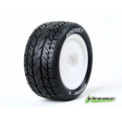 Image of LOUISE E-ROCKET 1/10 BUGGY REAR TIRES/WHEELS