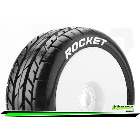 LOUISE B-ROCKET 1/8 ON ROAD BUGGY TIRES/WHEELS