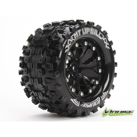 LOUISE MT-UPHILL TIRES MOUNTED / BLACK RIMS O/S