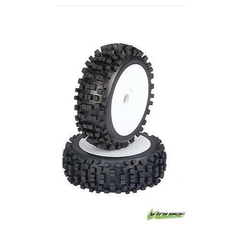 LOUISE LT BUGGY TIRES 1/8 PREMOUNTED
