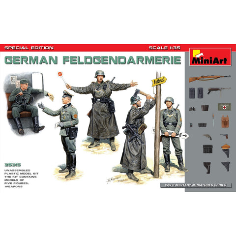 MINIART 1/35 German Feldgendarmerie. Special Edition