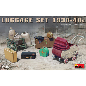 MINIART 1/35 Luggage Set 1930-40s