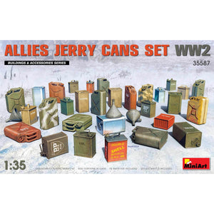 MINIART 1/35 Allies Jerry Cans Set WW2