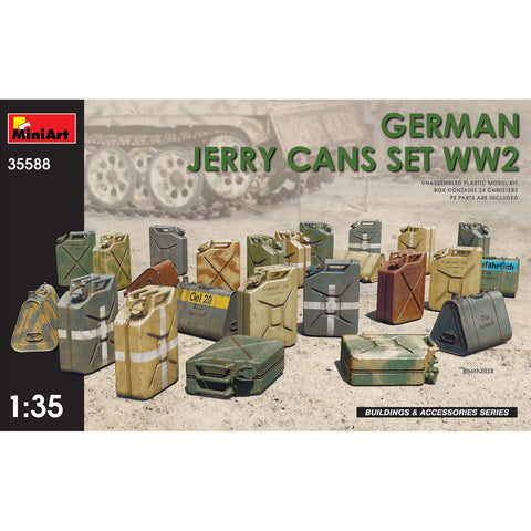 MINIART 1/35 German Jerry Cans Set WW2