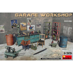 MINIART 1/35 Garage Workshop