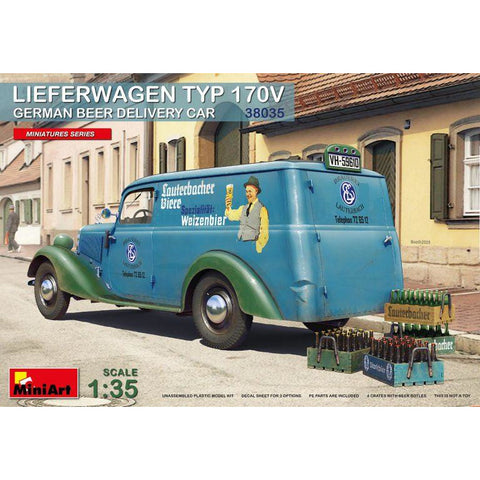 MINIART 1/35 Lieferwagon Typ 170V German Beer Delivery Car