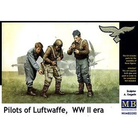 MASTER BOX 1/32 Pilots of WW2 Kit #2 Luftwaffe