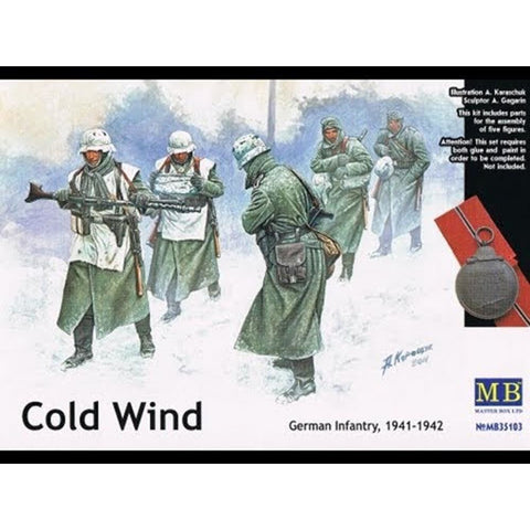 MASTER BOX 1/35 Ger. Inf. 'ColdWind' E. Front 1941