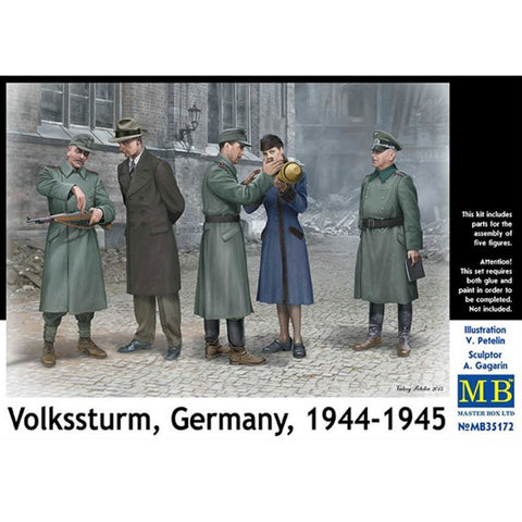 MASTER BOX 1/35 Volkstrum Germany 1944-1945 WWII