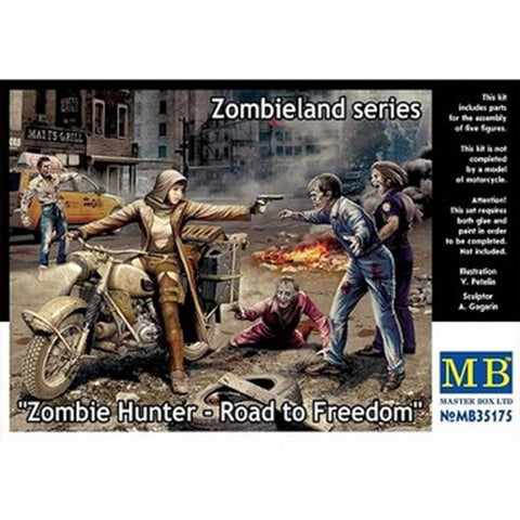 MASTER BOX 1/35 Zombie Hunter: Road to Freedom