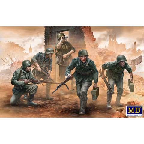 MASTER BOX 1/35 German Inf. WW2 Era Early Period