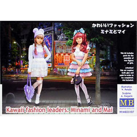 MASTER BOX 1/35 Kawaii Fashion Minami and Mai