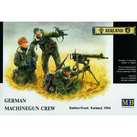 MASTER BOX 1/35 German MG Crew Kurland E-Front 1944