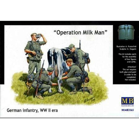 MASTER BOX 1/35 'Operation Milkman' German inf. WW2