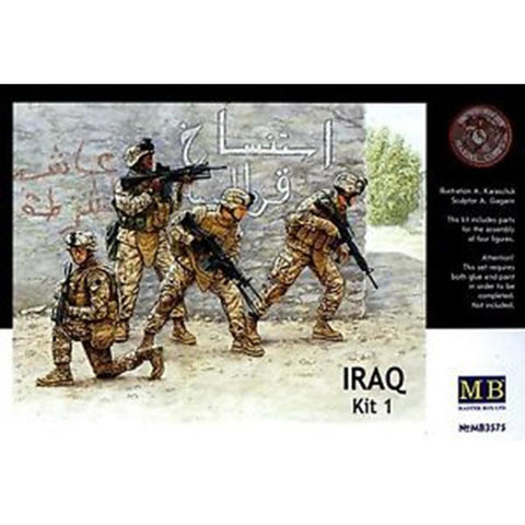 MASTER BOX 1/35 Iraq Event Kit Ser.#1: US Marines