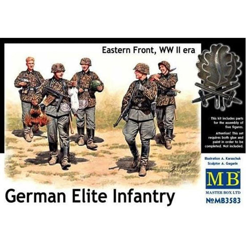 MASTER BOX 1/35 German Elite Infantry E.Front WW2