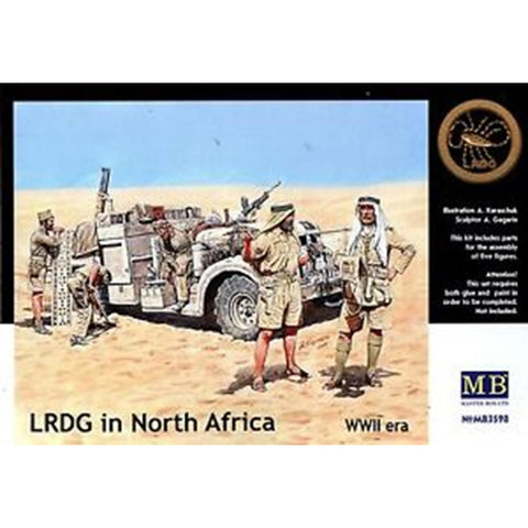 MASTER BOX 1/35 LRDG in North Africa WW2 era