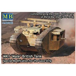 1/72 Mk.1 Male Tank Gaza Strip Mod. WW1