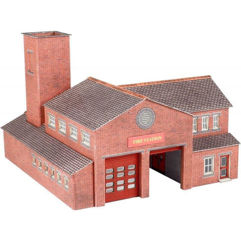 METCALFE Fire Station N Scale