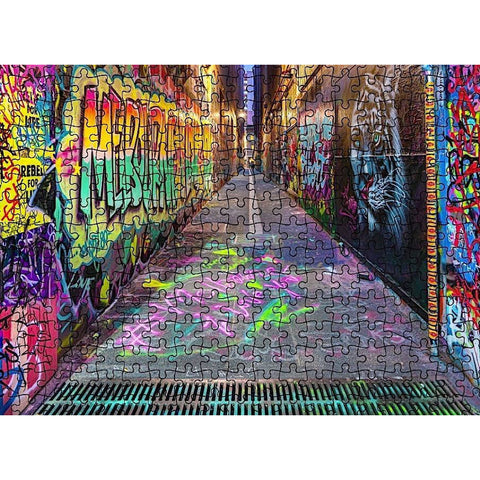 MELB I LOVE YOU 1000 Piece Jigsaw Melb Street Art
