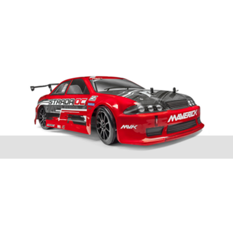 MAVERICK STRADA RED DC 1/10 4WD BRUSHLESS ELECTRIC DRIFT CAR (MV12626)