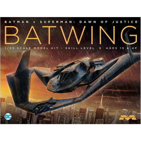 MOEBIUS 1/25 Batman vs Superman Batwing Plastic Model
