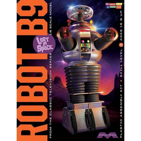 MOEBIUS 1/6 Lost in Space Robot Plastic Kit Movie
