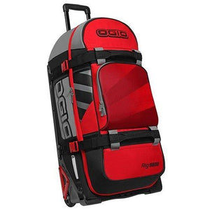 OGIO RIG 9800 WHEELED BAG RED / HUB (OG-121001.958)