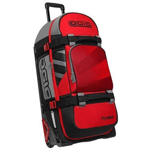 Image of OGIO RIG 9800 WHEELED BAG RED / HUB (OG-121001.958)