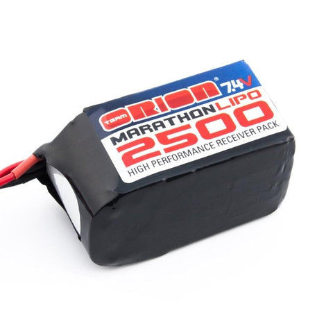 TEAM ORION RX LiPo Pack 2500mAh Hump