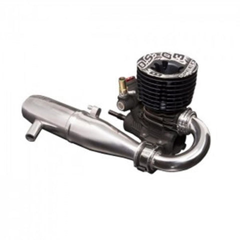 OS Engines Speed B2103 Type R Nitro Buggy Engine, w/ T-2100 SC Tuned Pipe, .21 Size, 1/8 Off-Road