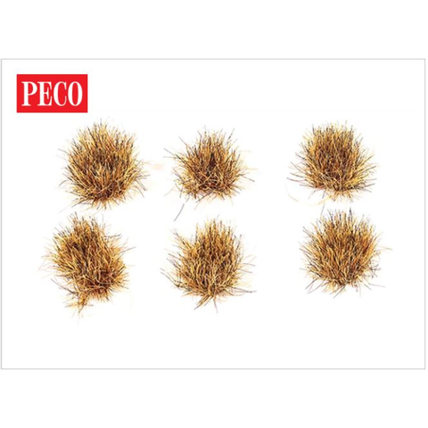 PECO 10mm Self -Adh Patchy Tufts (100) (P-PSG075)