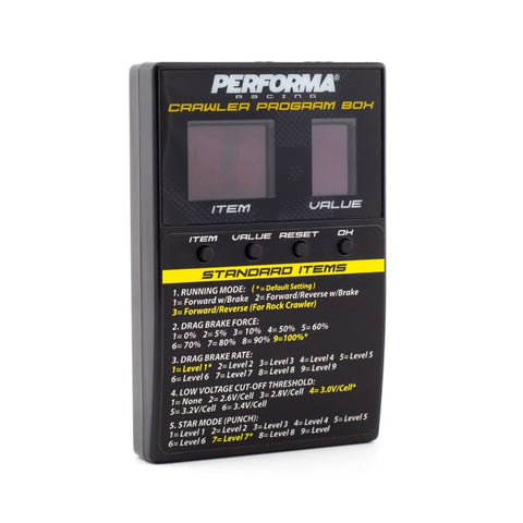 Performa P1 Radical Crawler LED Program Box (P1-PA9362)