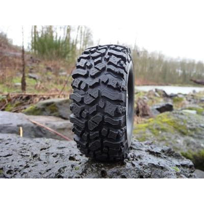 Image of PIT BULL 1.9 Rock Beast Scale RC Tires w/2 Stage Foam 2pcs