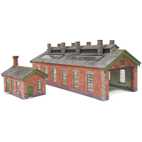 METCALFE Double Track Engine Shed N Scale