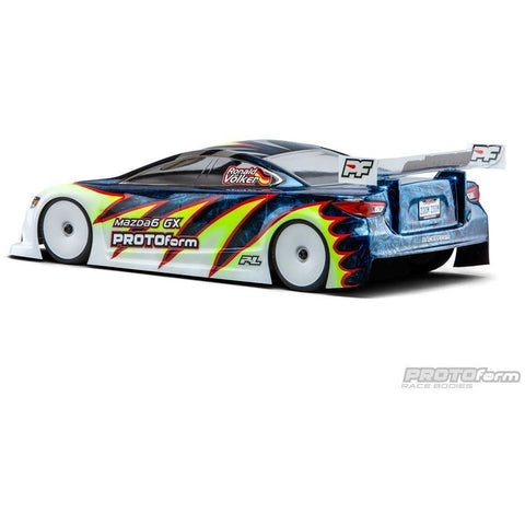 Mazda6 GX Light Weight Clear Body for 190mm - Hearns Hobbies Melbourne - PROTOFORM - 1
