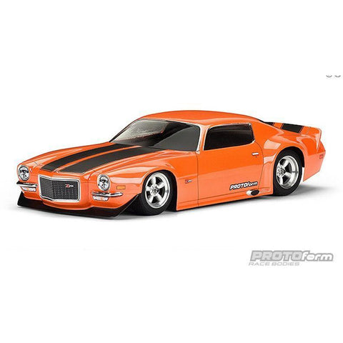 PROTO FORM 1971 Chevrolet Camaro Z28 Clear Body PR1552-40