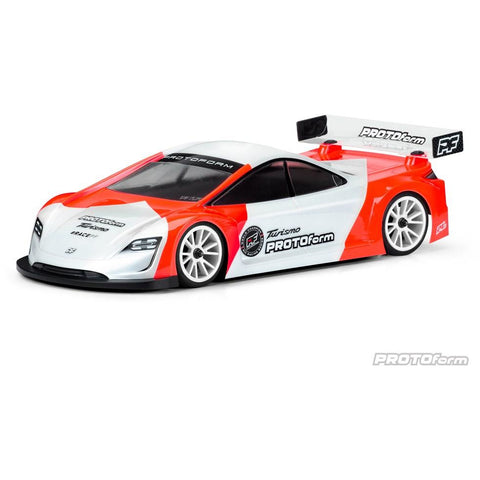 PROTOFORM TURISMO 190MM LIGHT WEIGHT CLEAR TOURING CAR BODY - (PR1570-25)