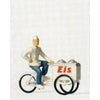 PREISER Ice Cream Man w/Cart (590-28075)