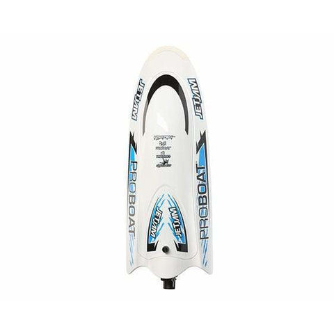 Image of PROBOAT Jet Jam Pool Racer RC Boat, RTR White