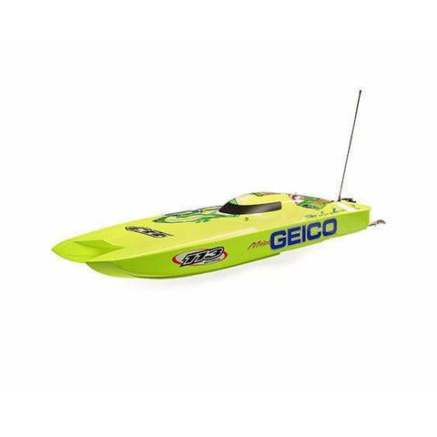 Image of PROBOAT Miss Geico Zelos 36 Catamaran, RTR