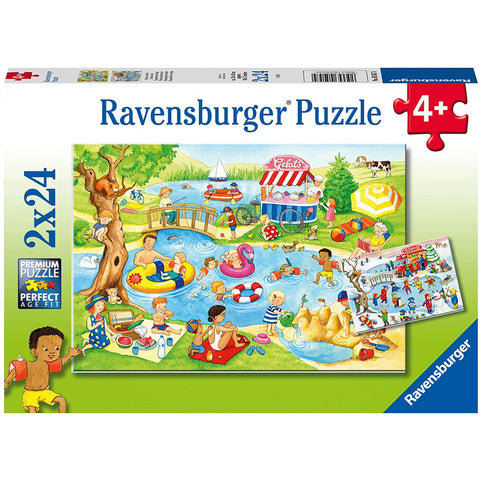 Ravensburger Swimming at the Lake 2x24pc